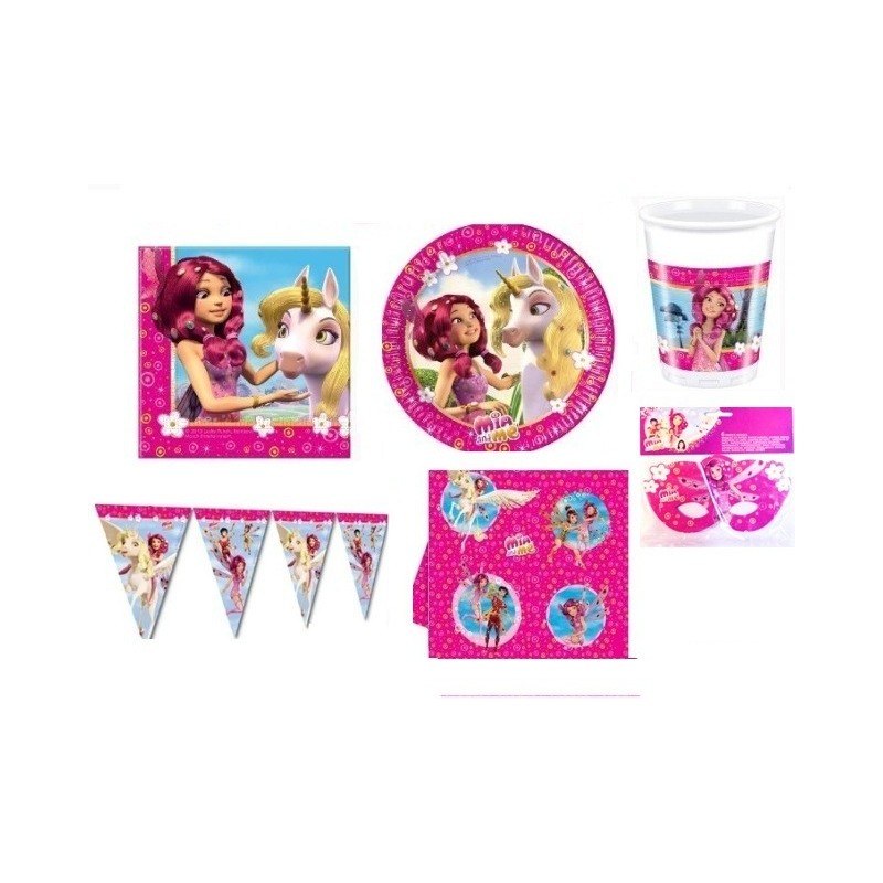 KIT COMPLEANNO BAMBINA SERIE MIA AND ME