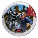 KIT N.54 BATMAN E SUPERMAN – SET TAVOLA PER FESTE