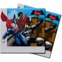 KIT N.55 BATMAN E SUPERMAN – COORDINATO PER IL COMPLEANNO