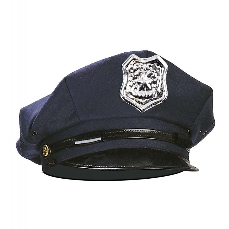 CAPPELLO DA POLIZIOTTO – CON FREGI DORATI E ARGENTATI