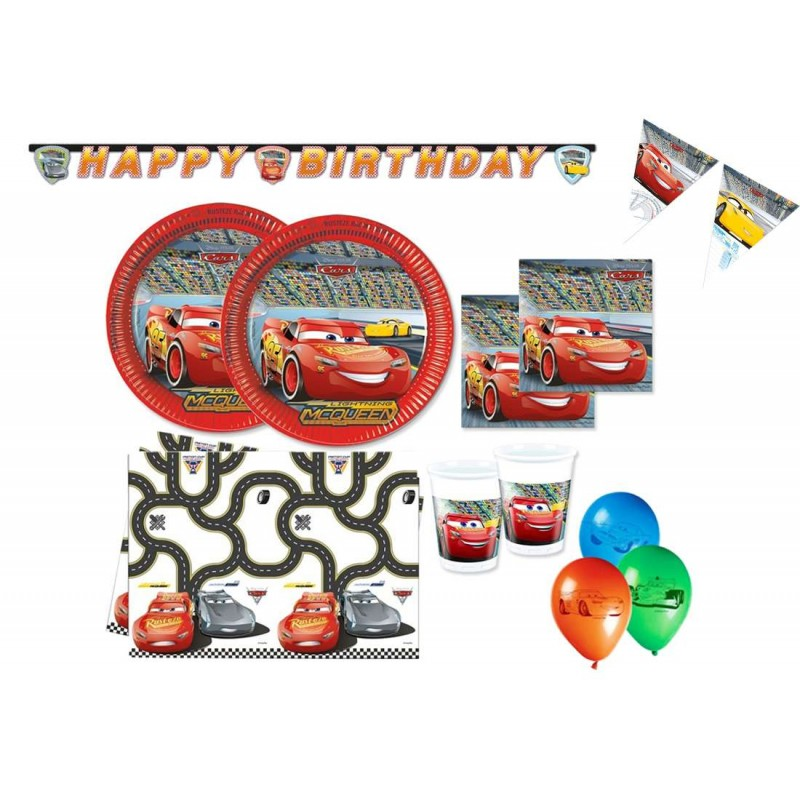 COMPLEANNO CARS DISNEY FESTA COMPLEANNO