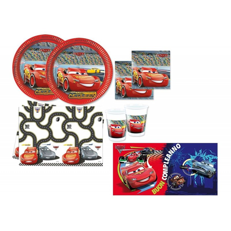 kit tavola cars disney
