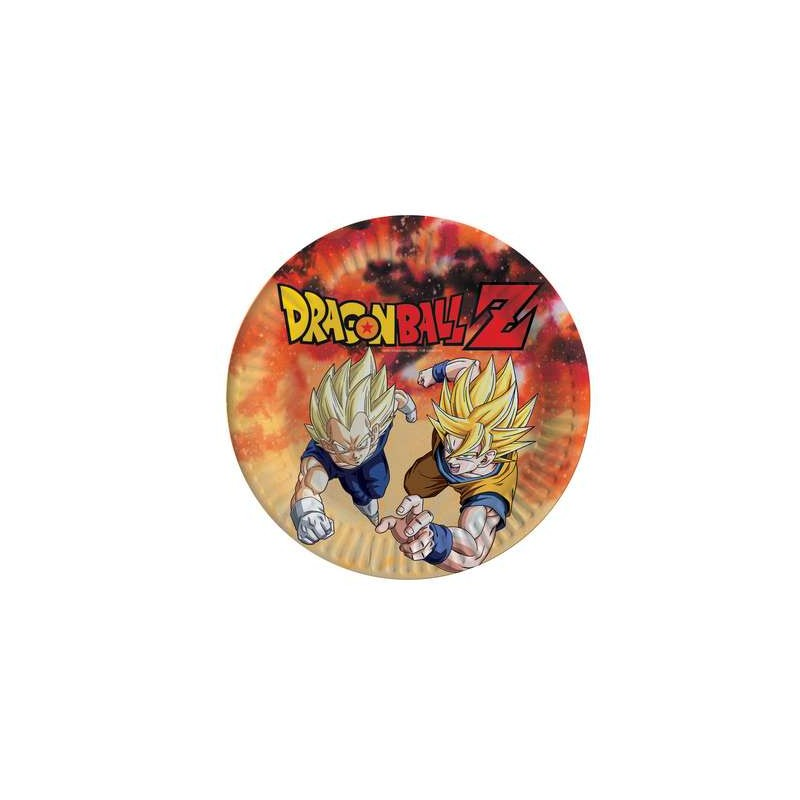 PIATTI DRAGON BALL - 8 PZ
