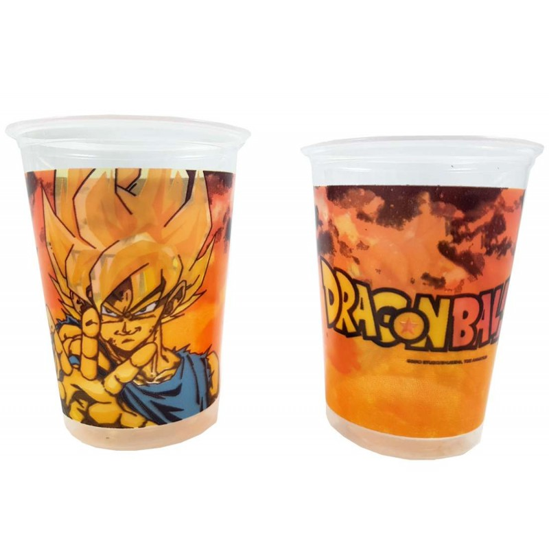 BICCHIERI DRAGON BALL - 8 PZ