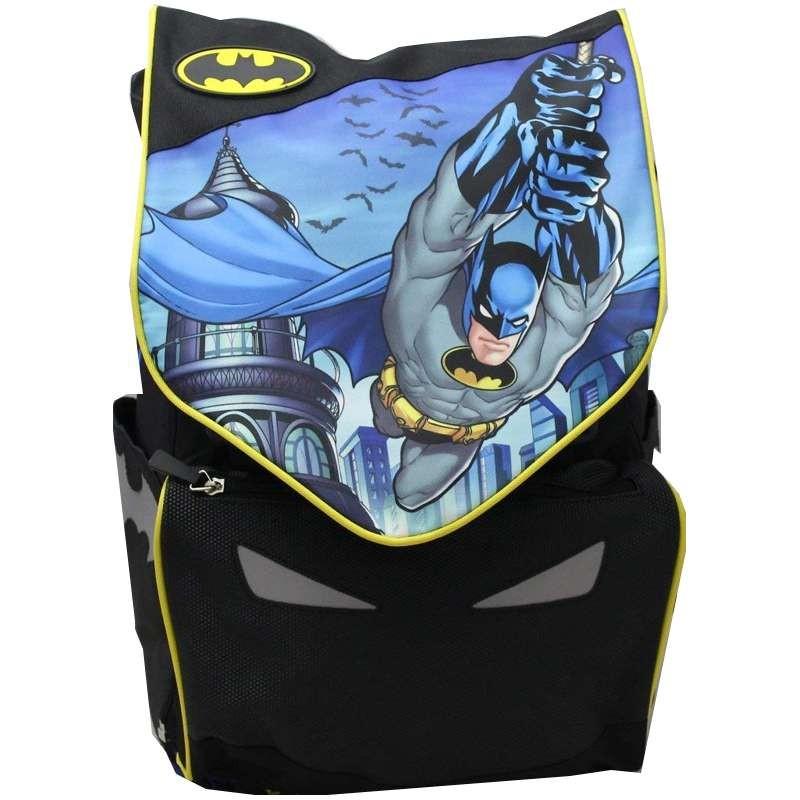 metà fuori 2b5b1 cb9c8 Zaino batman estensibile - zainetto scuola elementare uomo pipistrello