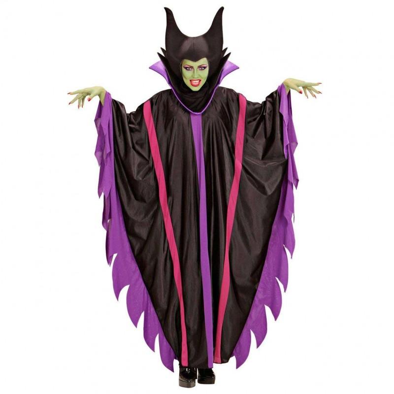 Costume da strega malefica - vestito malefizia d2f59fd650ea