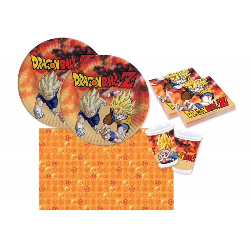 KIT N.3 DRAGON BALL - SET TAVOLA PER FESTE