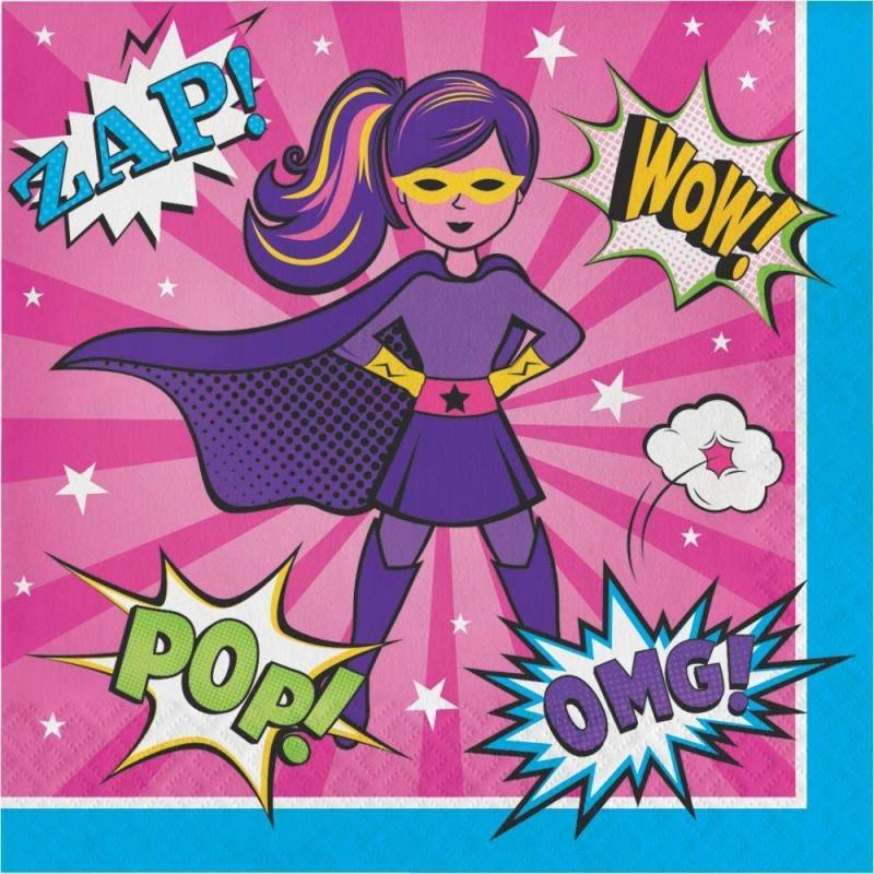 TOVAGLIOLI SUPER HEROES GIRL - 16 PZ