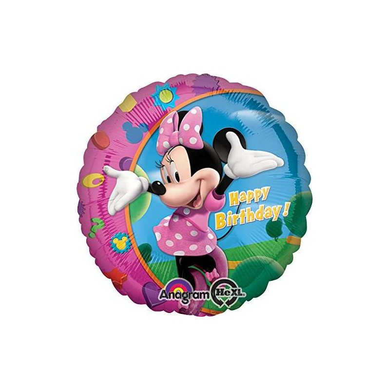 FOIL MINNIE TONDO – SUPERSHAPE DISNEY