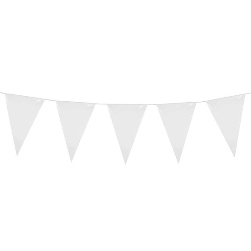 BANDIERINE BIANCHE – FESTONE PER CERIMONIE