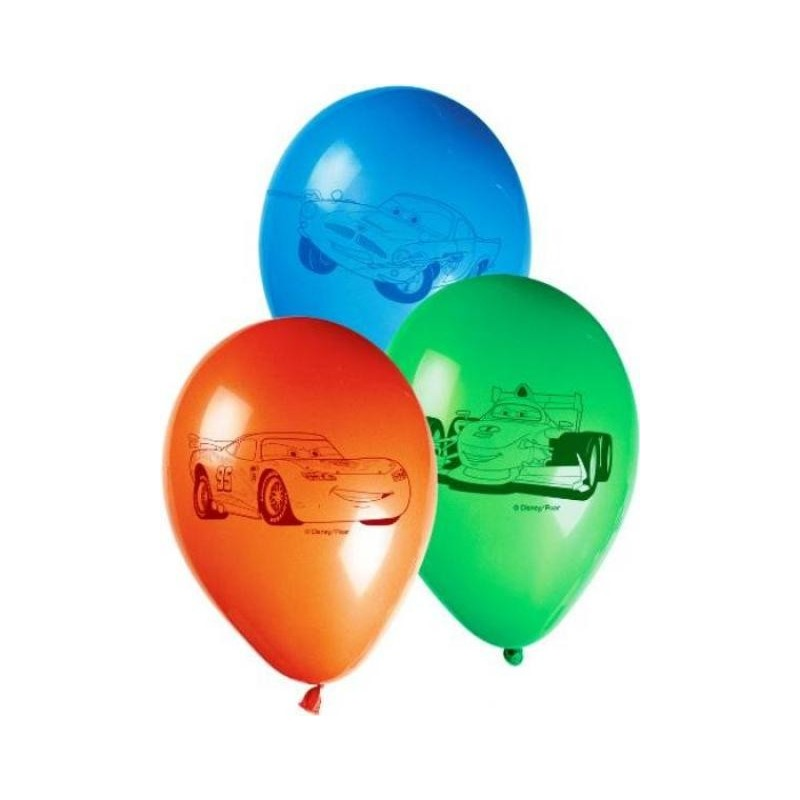 15 PALLONCINI COLORATI FESTA A TEMA CARS DISNEY