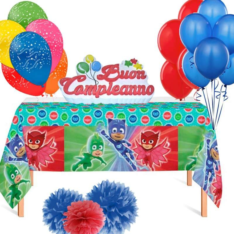 Addobbi Compleanno Super Pigiamini Pj Masks Irpot