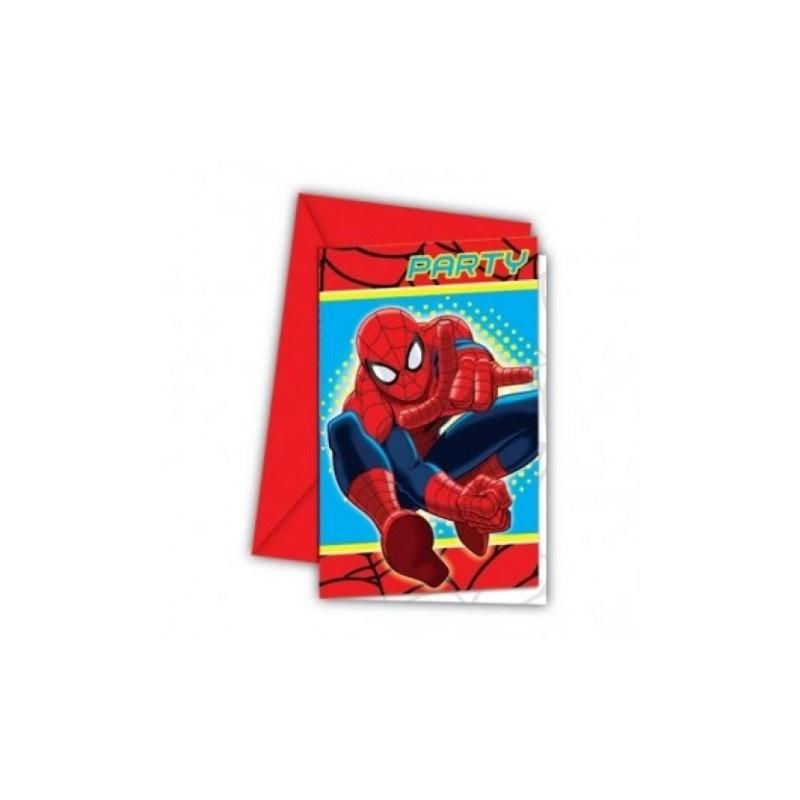 Inviti compleanno Spiderman