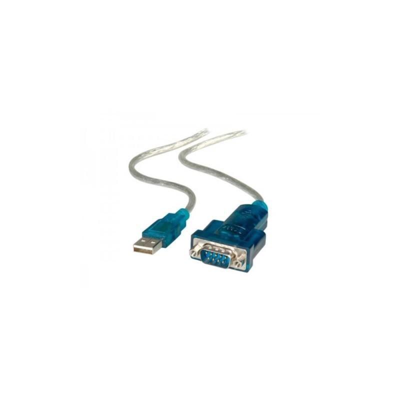 320-00001 CONVERTITORE DA USB A SERIALE M/M 1,8 MT ADJ