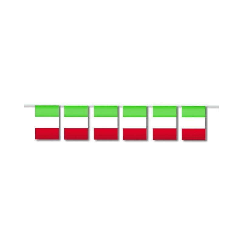 2 X FESTONE BANDIERINE ITALIA