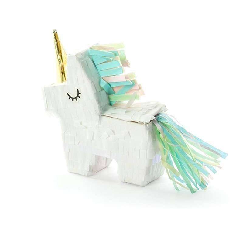 Mini pignatta unicorno - scatolina unicorn