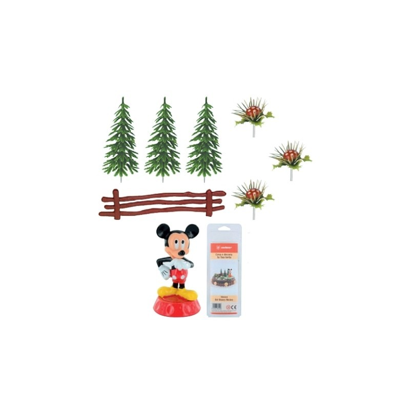 70444 KIT DECORAZIONE TORTA TOPOLINO MODECOR