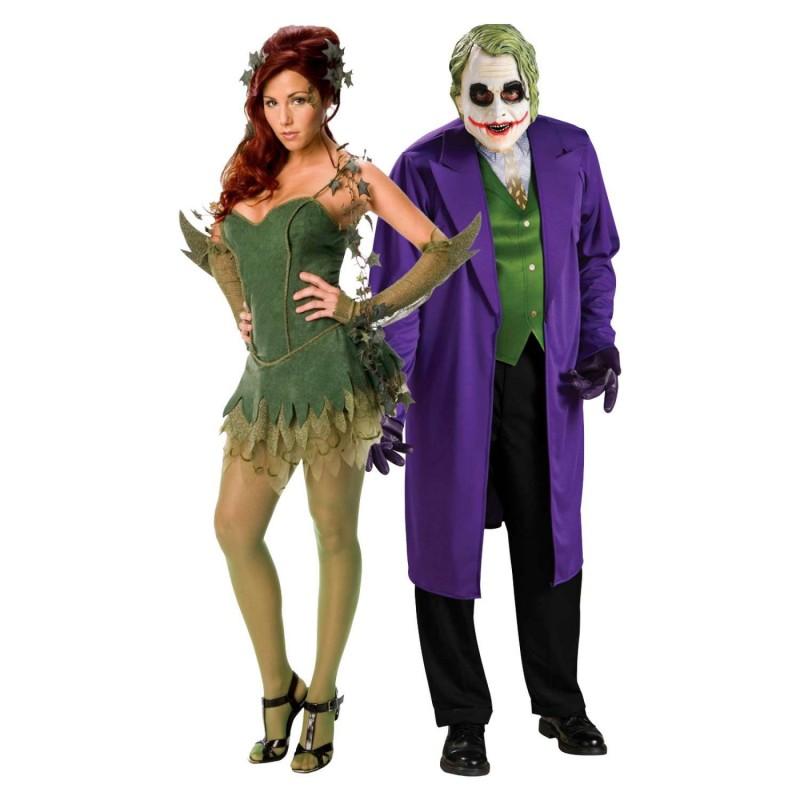nuova alta qualità ricco e magnifico ineguagliabile nelle prestazioni Costumi di coppia per Carnevale: Joker e Harley Quinn