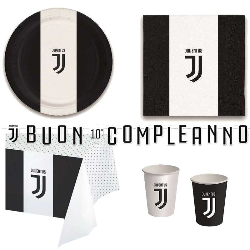 comprare bene volume grande selezione speciale di Kit n.13 Juventus - accessori festa tifosi bianco neri
