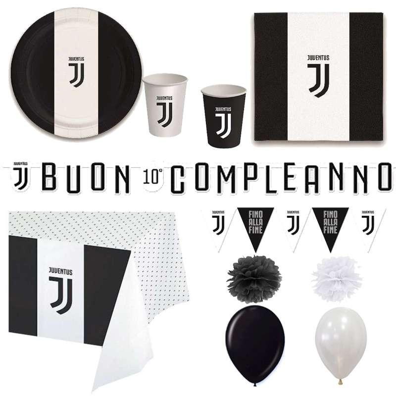 Juventus Addobbi E Decorazioni Compleanno Irpot