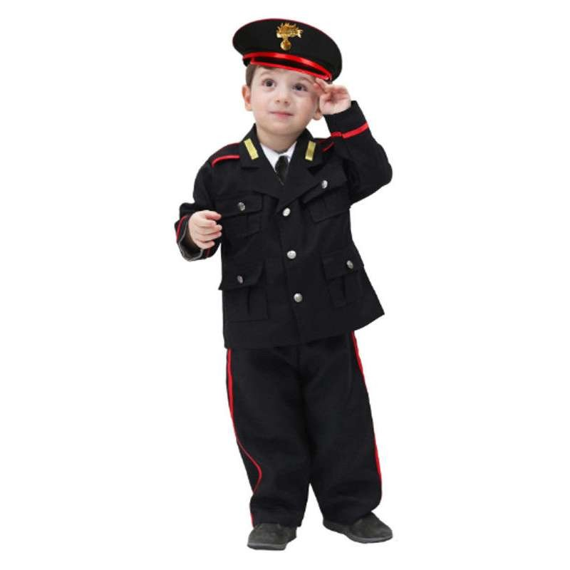 Vestito Carabiniere Bambino.Costume Da Carabiniere Per Bambini Travestimento Completo