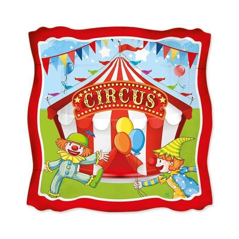 Kit n.30 circus party - set festa a tema circo per bambini