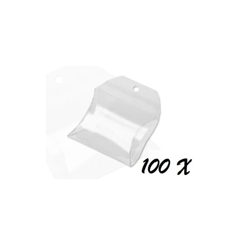 100 SCATOLINE PORTACONFETTI A BORSETTA 01401