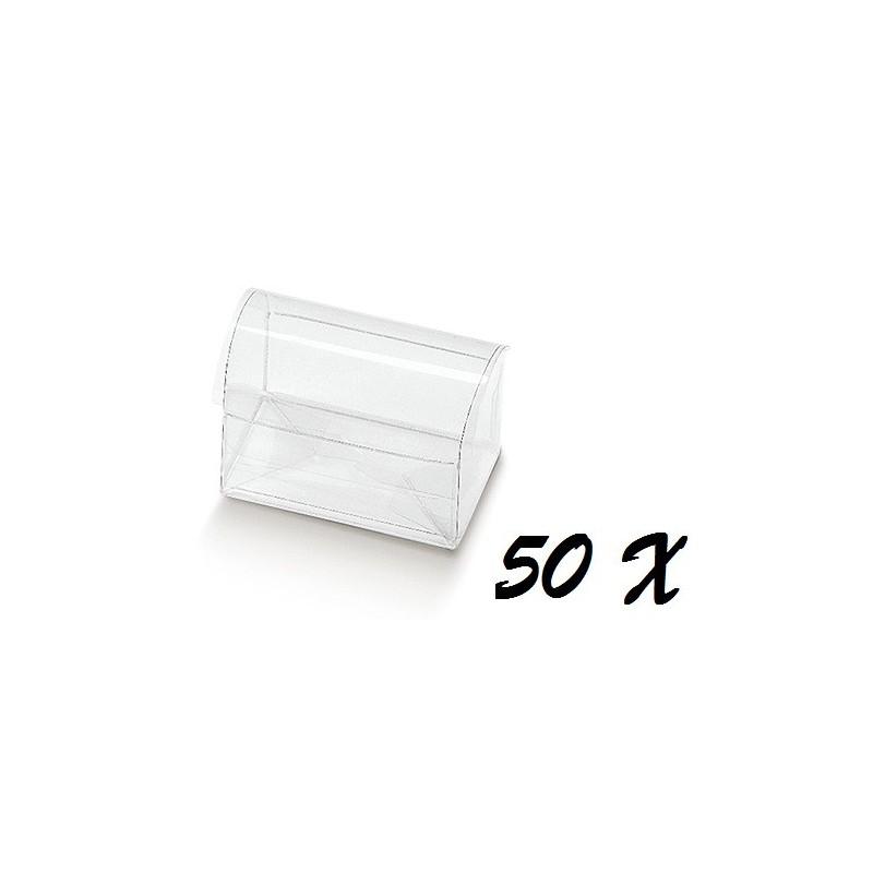 50 COFANETTI PORTACONFETTI 09501