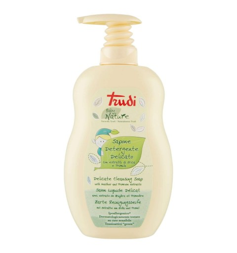 Sapone detergente delicato Trudi baby nature - 400 ml