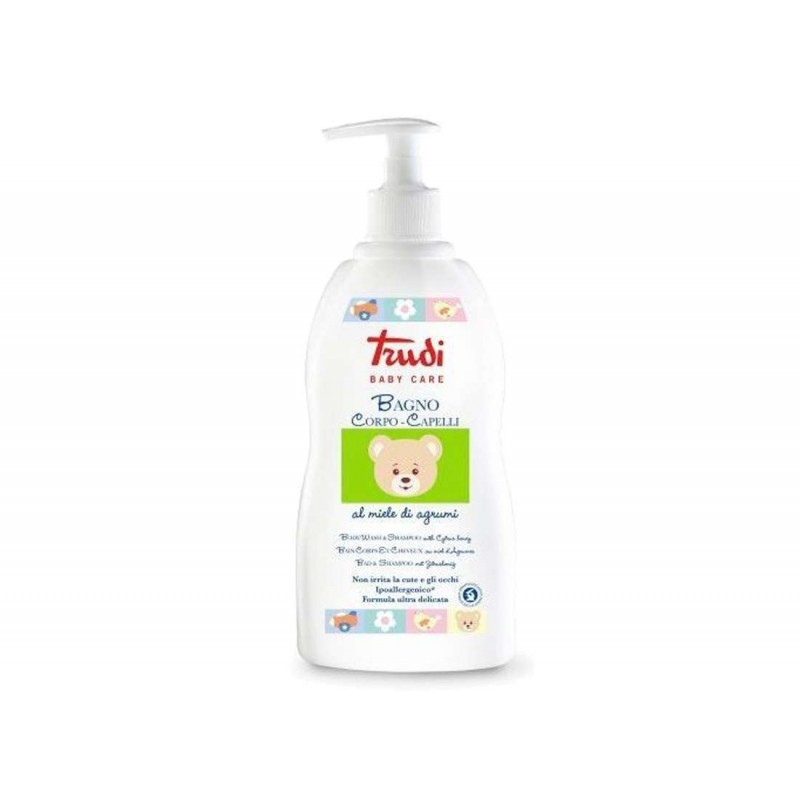 Bagno corpo e capelli Trudi baby care miele di agrumi - 500 ml
