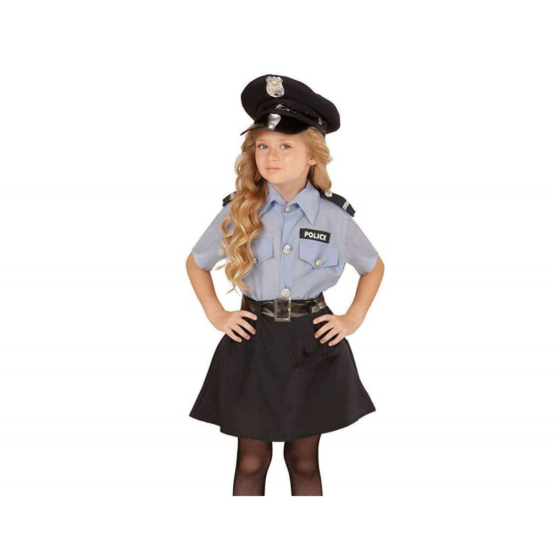 nuovo massimo a basso costo molti stili Costume poliziotta - vestito carnevale poliziotta bambina