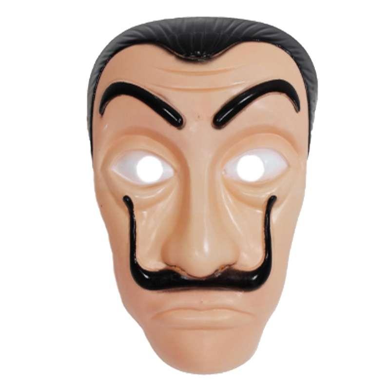 maschera dali casa di carta  Maschera Salvator Dalì - la casa di carta