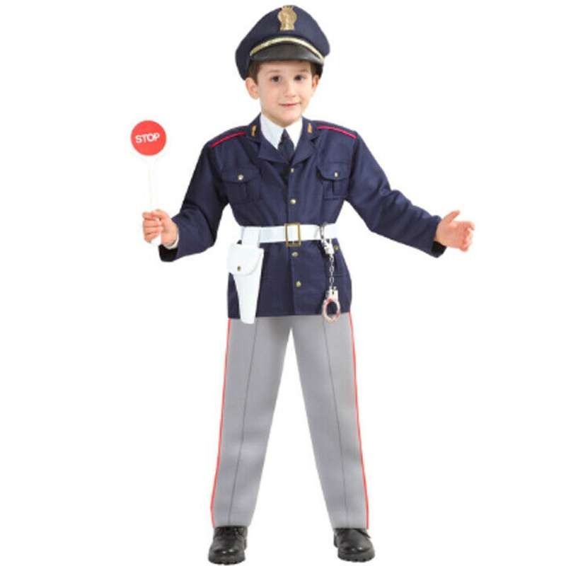 migliore a buon mercato prezzo di fabbrica grande sconto Costume poliziotto bambino per carnevale