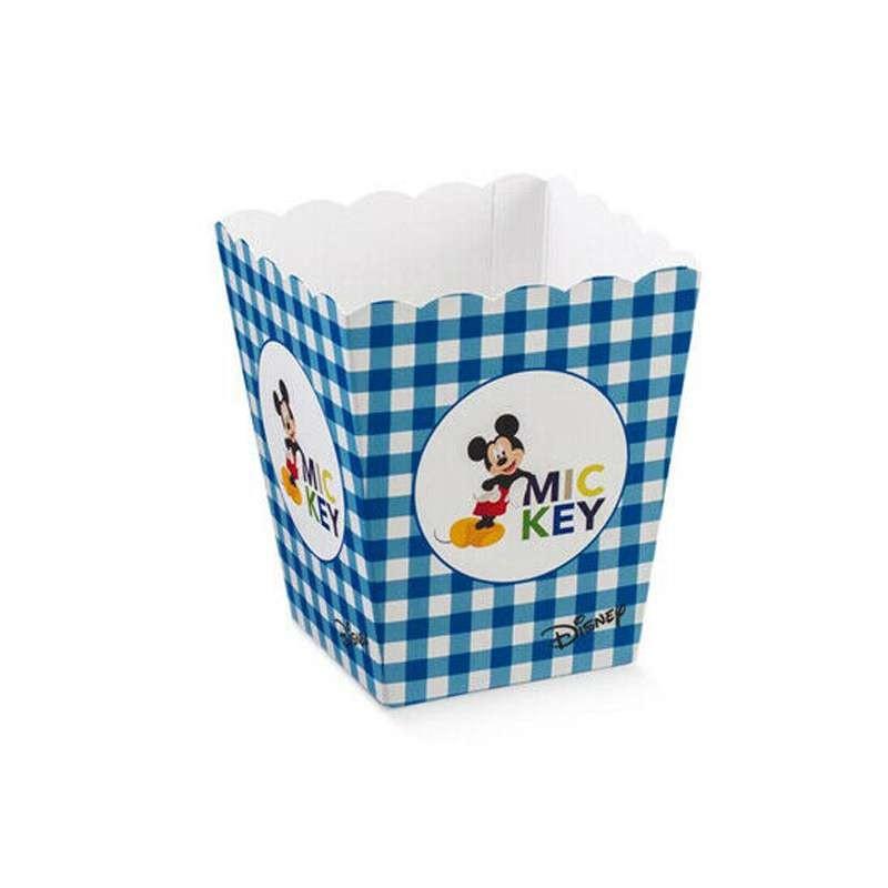 Contenitore caramelle pop corn Topolino - misura piccola 10 pz