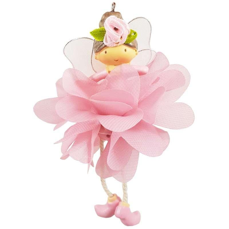 Fatina ballerina rosa bomboniera