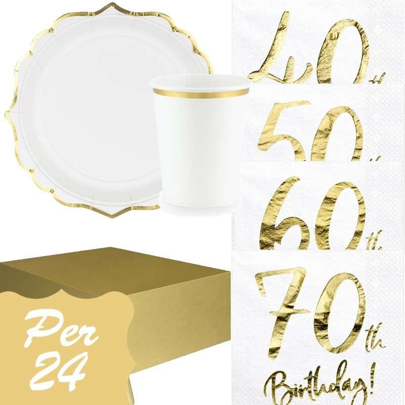 Articoli Per Feste E Compleanni Irpot Kit N 3 Compleanno