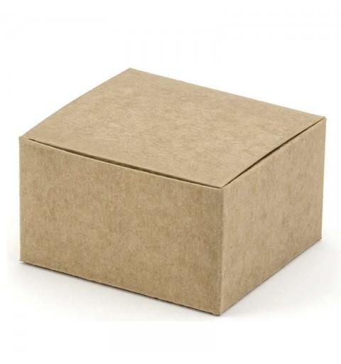 Scatolina carta kraft 6 cm x 5,5 cm x 3,5 cm PUDP24