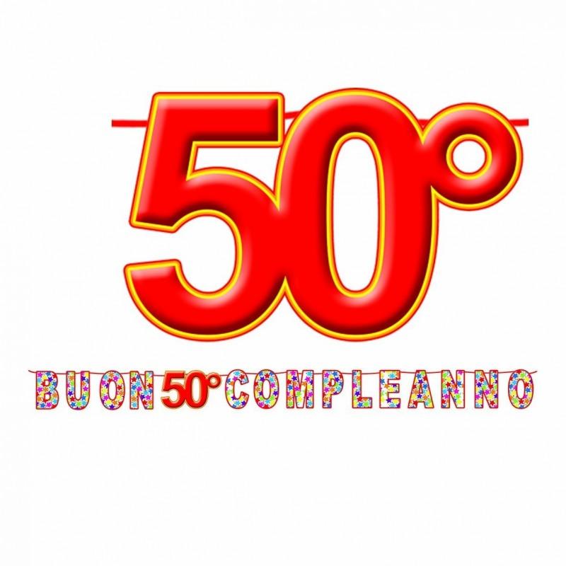 FESTONE COMPLEANNO 50 ANNI