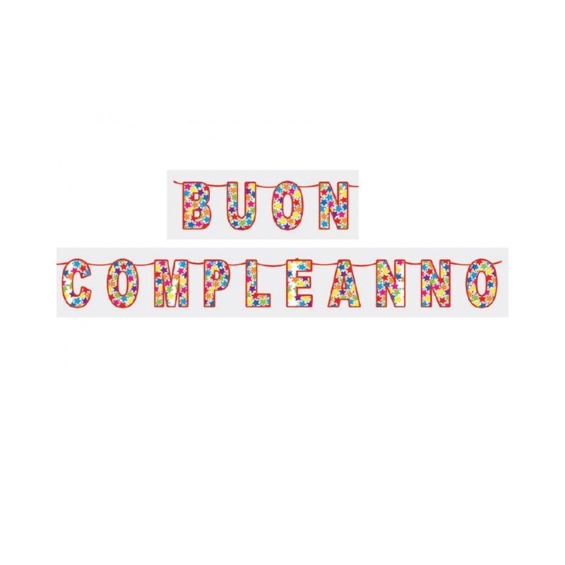 FESTONE BUON COMPLEANNO 6 MT 60195