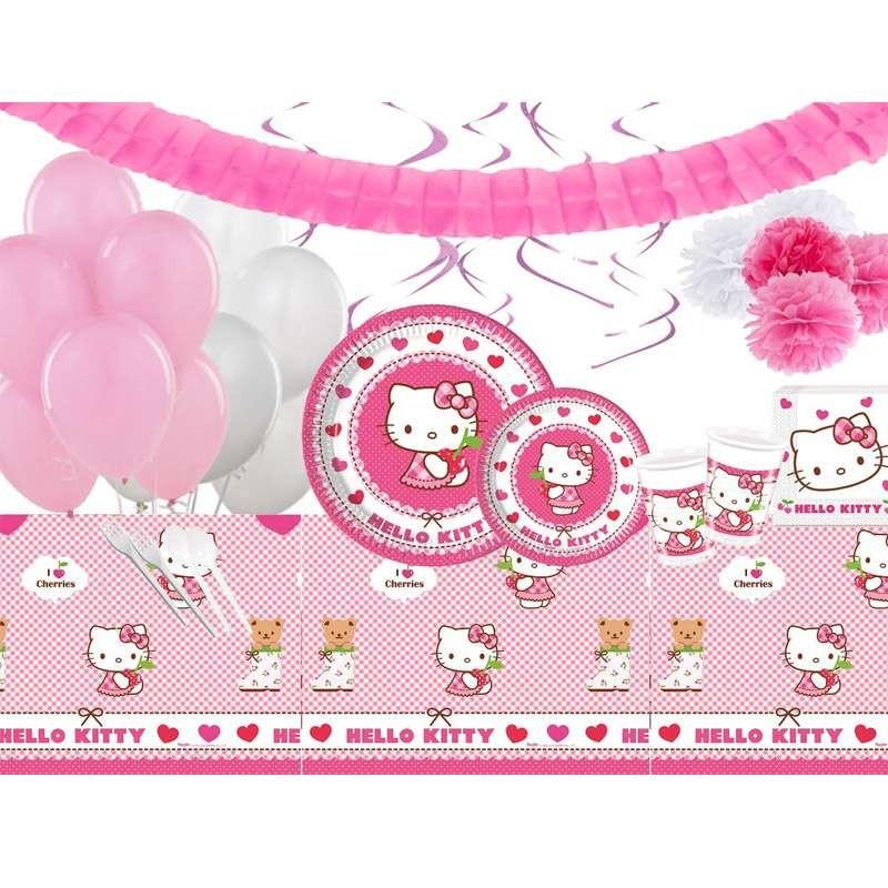 Tavolino Hello Kitty.Tavolo Allestimento Compleanno Hello Kitty
