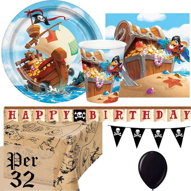 IRPot Kit N.49 ADDOBBI Compleanno Pirati