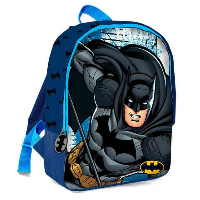 migliori scarpe da ginnastica fd24e 9fb4a Zainetto Batman uomo pipistrello per asilo