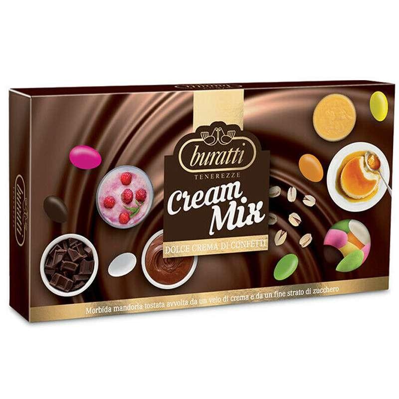 Confetti Buratti tenerezze cream mix - 1 kg
