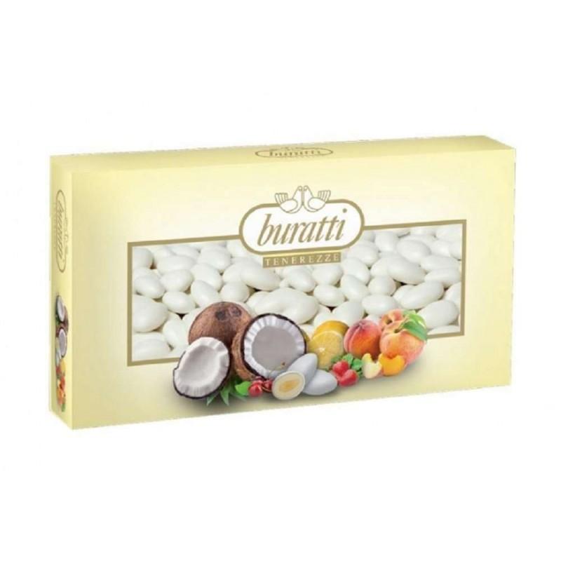 Confetti Buratti tenerezze alla frutta bianchi