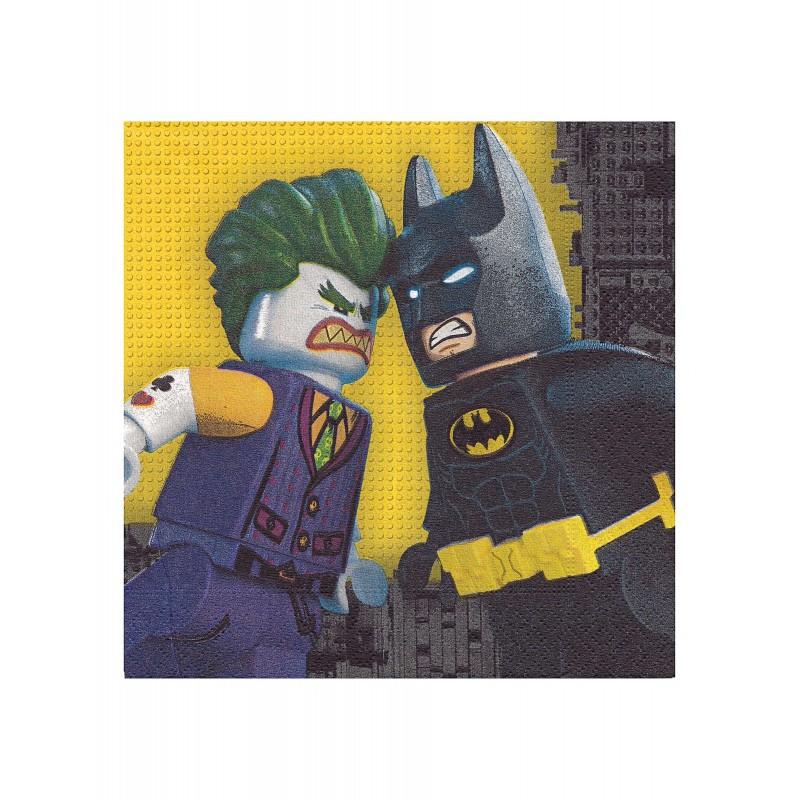 Tovaglioli Lego Batman - 20 pz