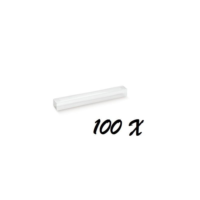 100 ASTUCCI PORTACONFETTI RETTANGOLARI 12435C