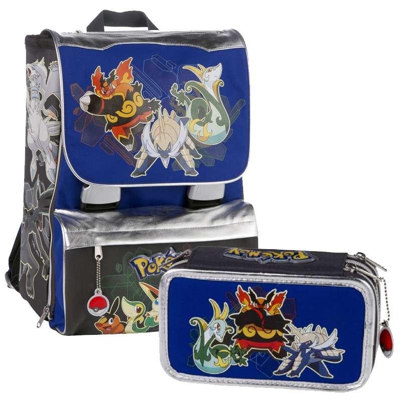 più amato c0e1d 935b0 Zaino eportapastelli pokemon - scuola elementare