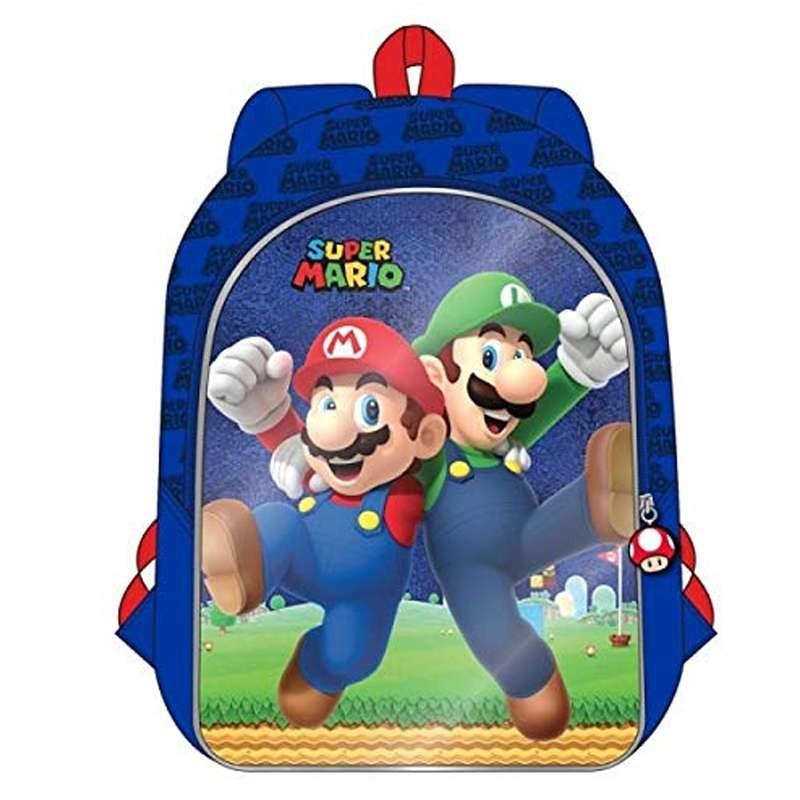 autentica di fabbrica f4a5a b340b Zainetto Super Mario