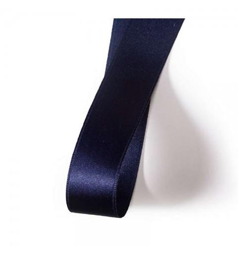 Nastrino blu di raso da 1 cm