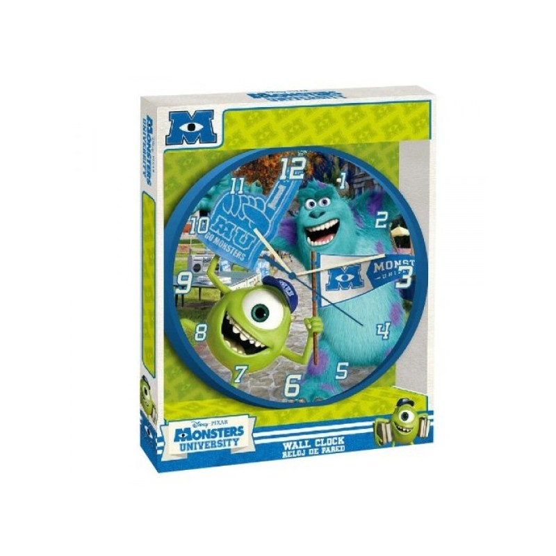 OROLOGIO A MURO MONSTERS UNIVERSITY  WD10464